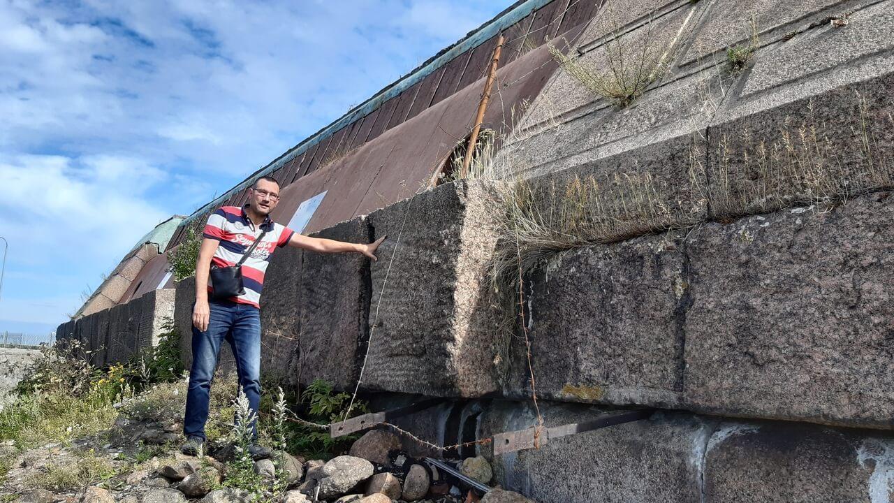 Стена форта