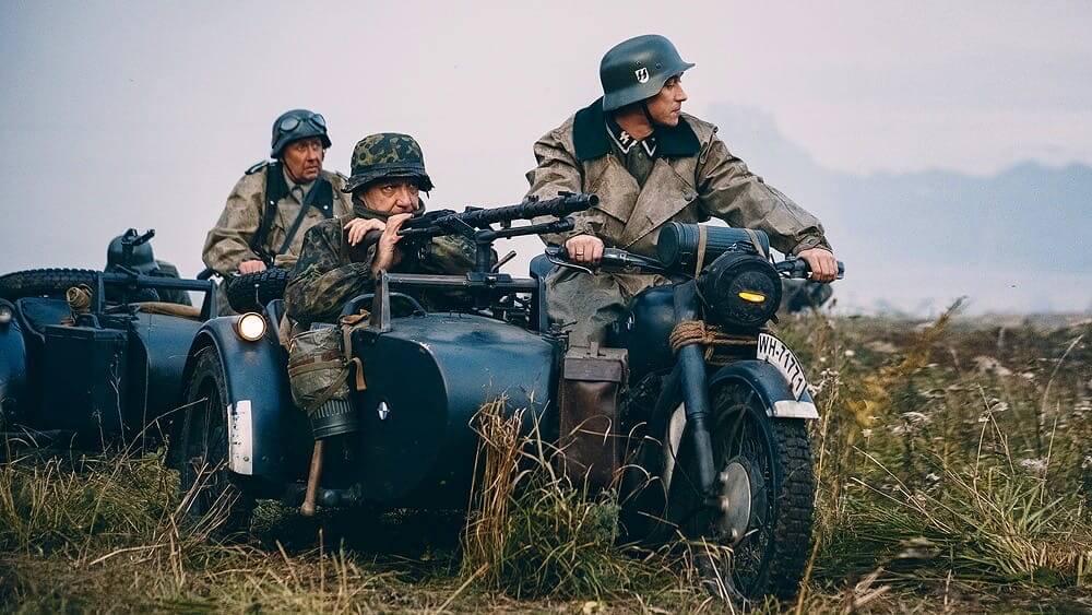 Фашистские мотоциклисты
