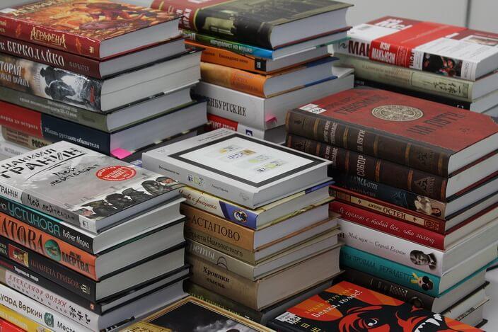 Книги на Крупе