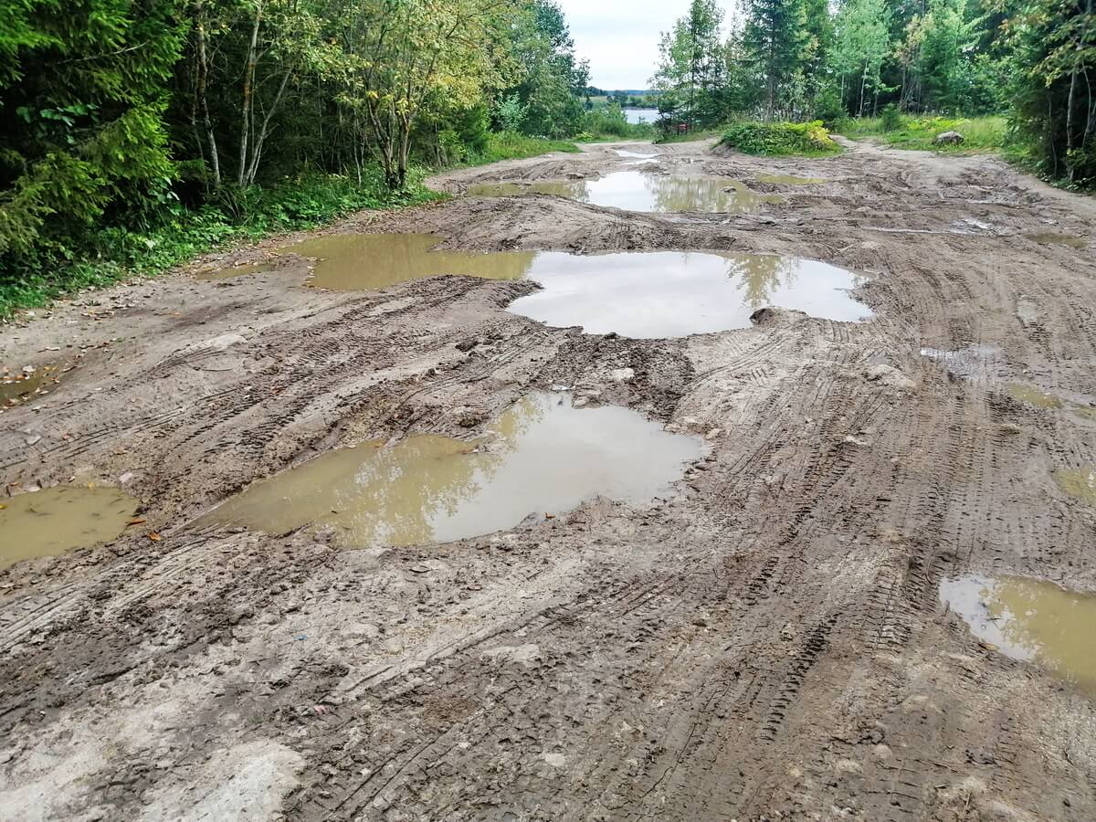 Дорога выглядит вот так