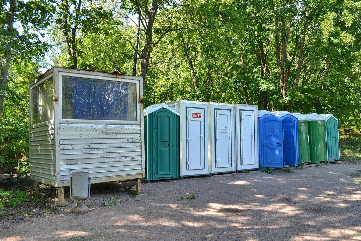 Туалеты в Монрепо