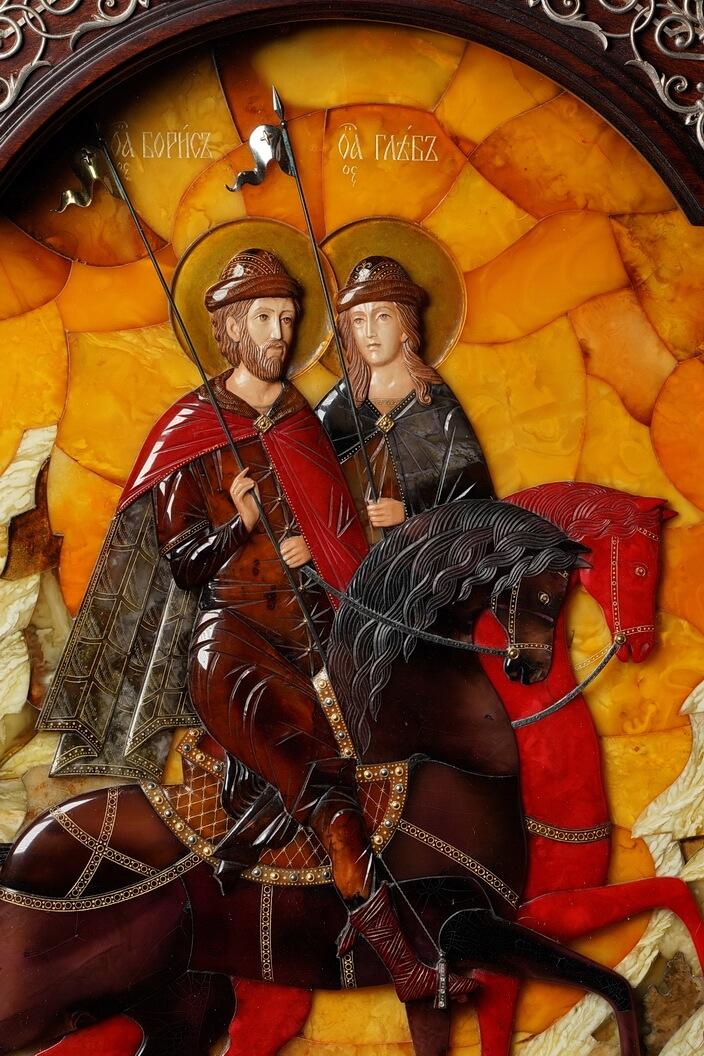 Св. Борис и Глеб (увеличено)