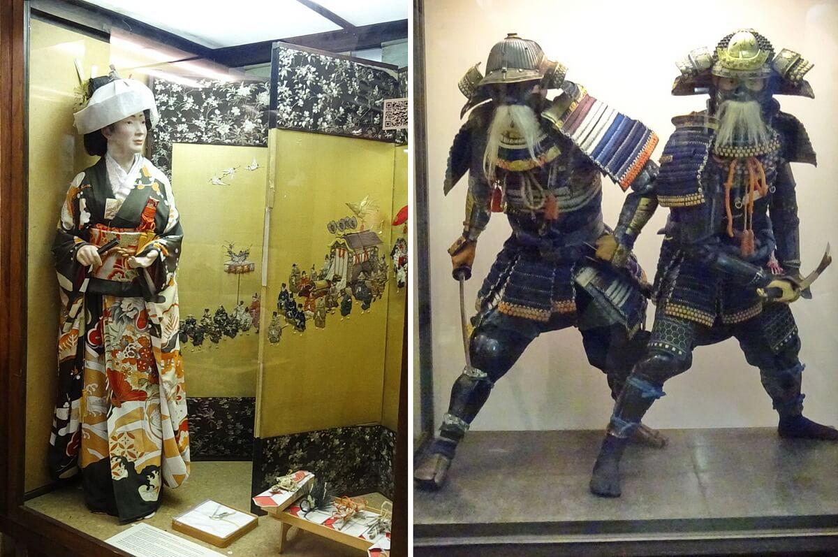 Девушка на Свадебной церемонии и самураи