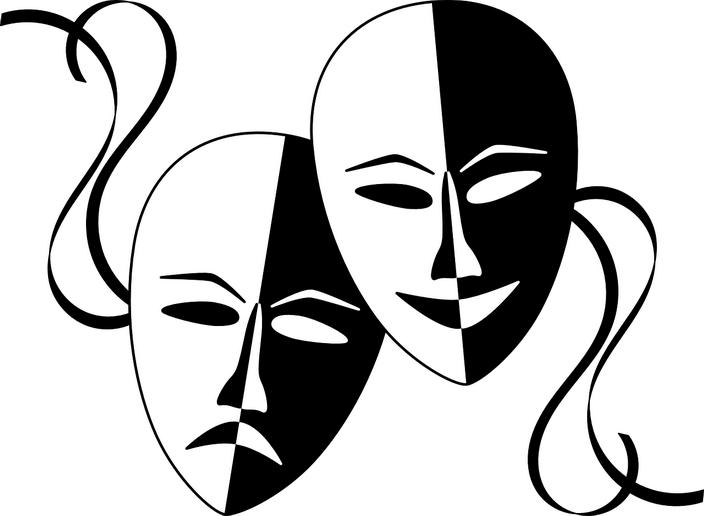Маски драмы и комедии