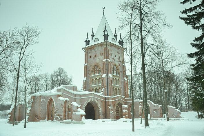 В парках Царского села