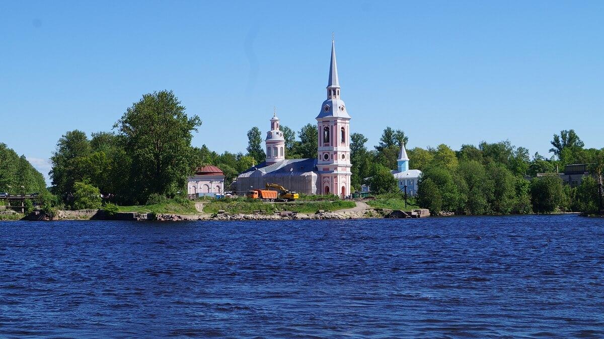 Благовещенский собор — главный православный храм Шлиссельбурга