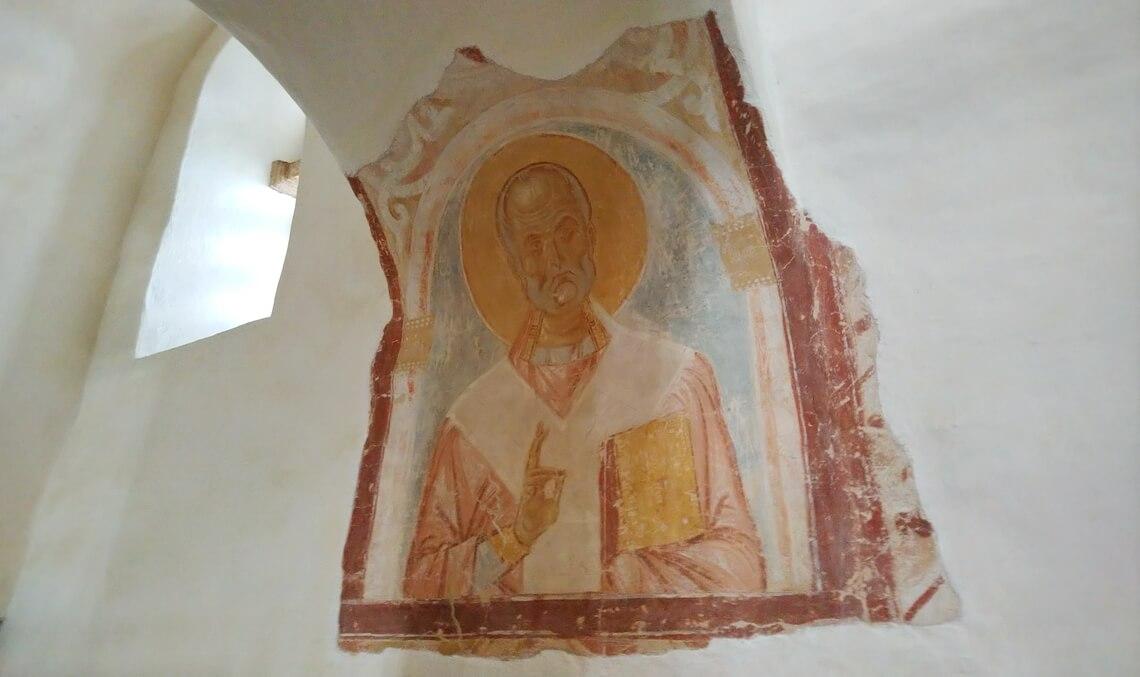 Фрески Церкви Святого Георгия XII век