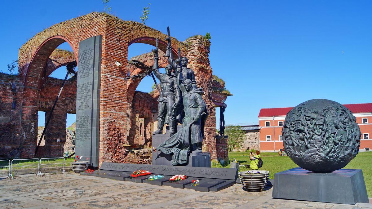 В память о защитниках Родины в Великую Отечественную войну