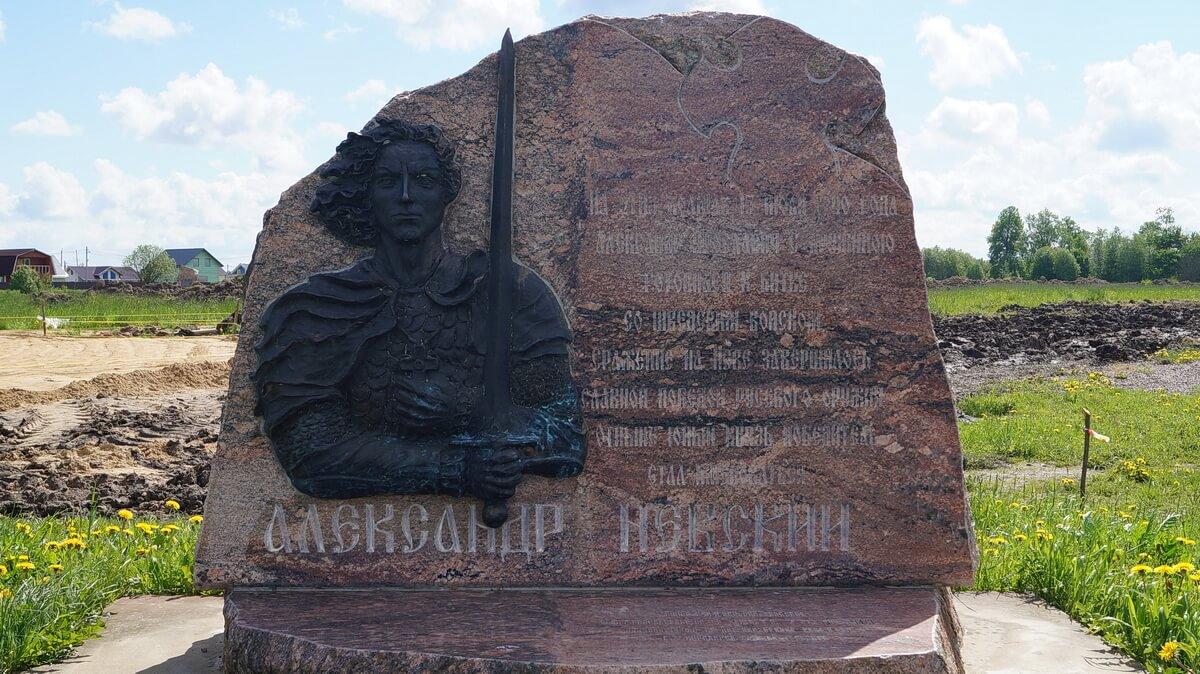Место, где будет храм благоверного князя Александра Невского