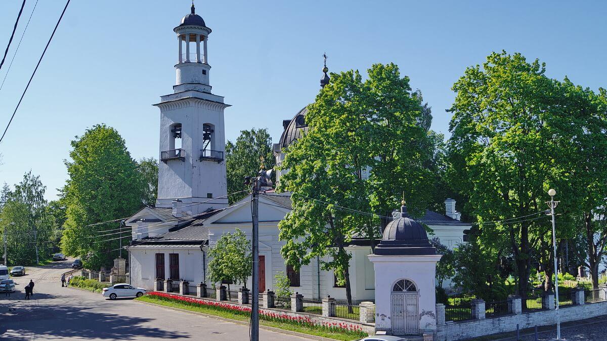 Церковь святого благоверного князя Александра Невского в Усть-Ижоре