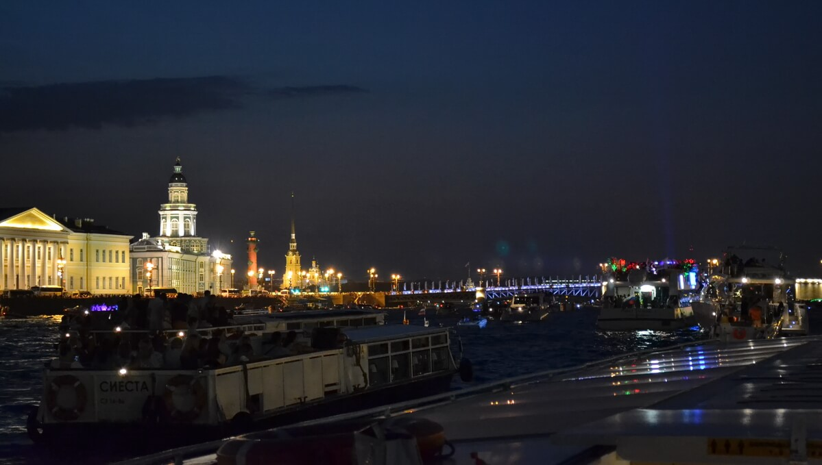 Кунсткамера, Стрелка Васильевского острова, Петропавловская крепость