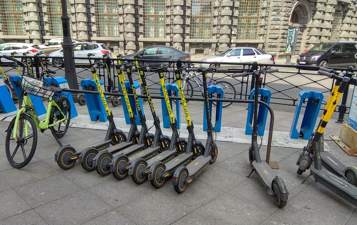 Самокаты и велосипеды в аренду