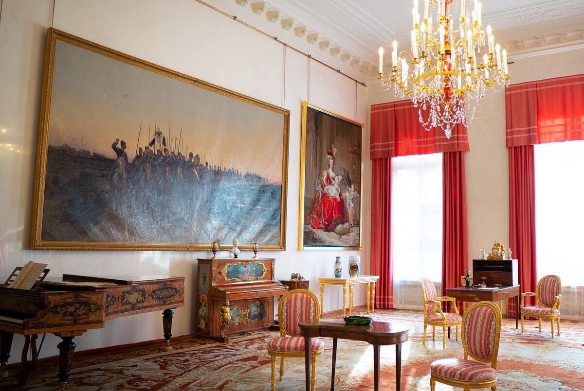 Интерьеры Александровского дворца в Царском Селе