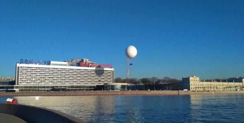 Воздушный шар уже не показывает туристам центр Петербурга с воздуха