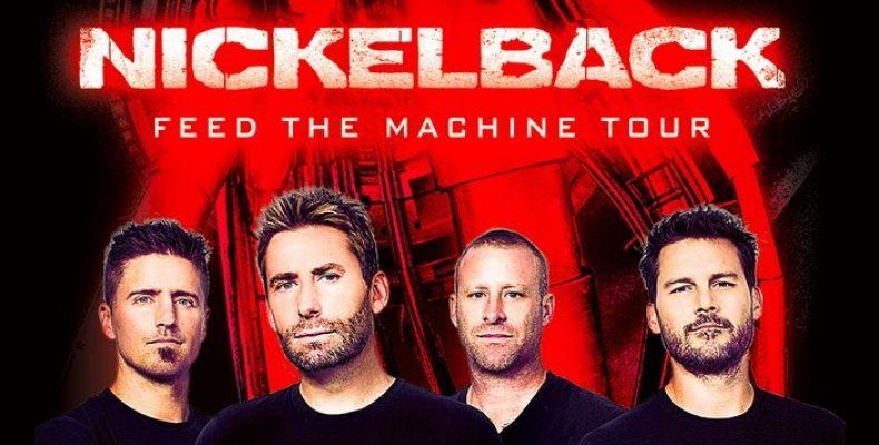 Группа Nickelback даст концерт 23 мая в Ледовом