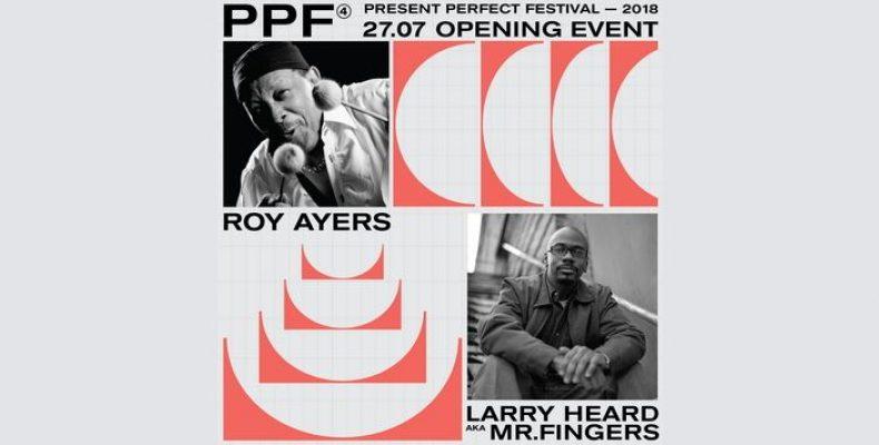 Мировые легенды Рой Айерс и Ларри Хёрд будут играть на Present Perfect Festival