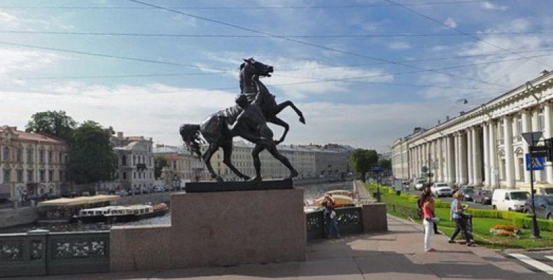 Мост с конями и его легенды