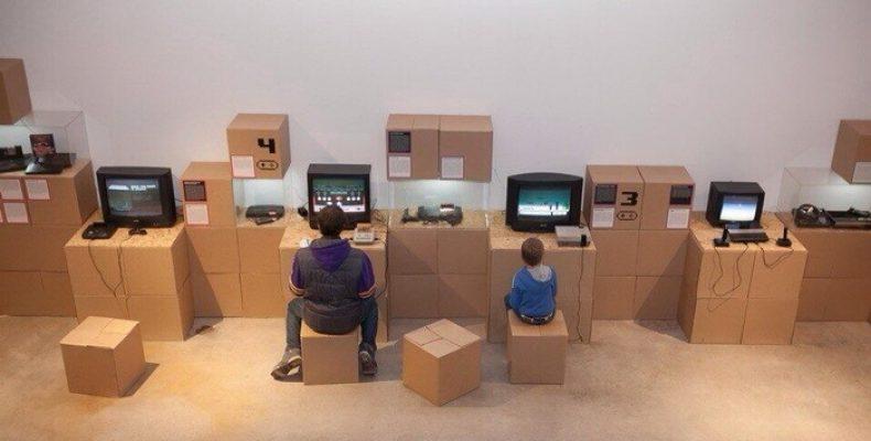 Музей советских игровых автоматов приглашает сразиться в танки на ретро приставках