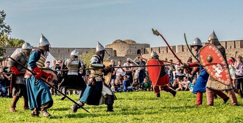 Фестиваль «Ивангородский рубеж» в Ивангороде 8 и 9 августа