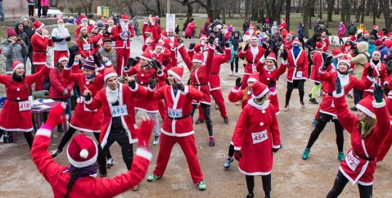 Прими участие в массовом забеге Дедов Морозов!