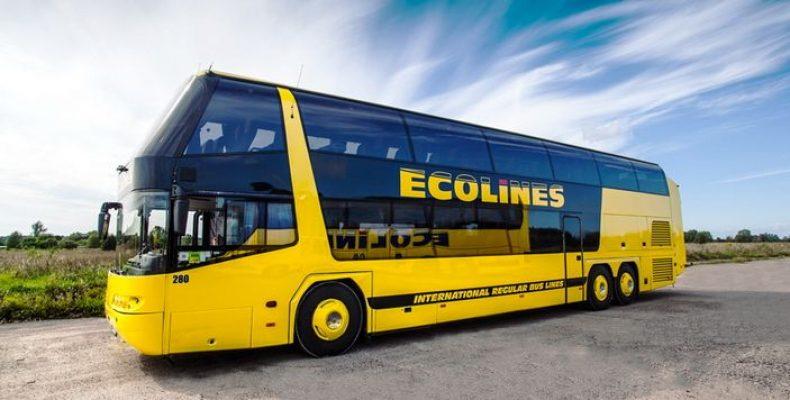 Автобусный оператор Ecolines запустил маршрут Санкт-Петербург – Хельсинки