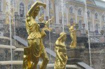 Петергоф устраивает шоу фонтанов 22 мая