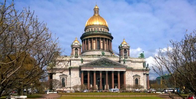Виды Петербурга с колоннады Исаакиевского собора