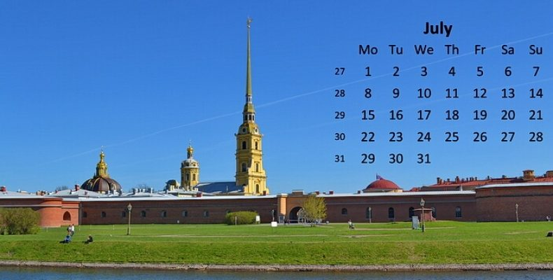 Куда сходить в Санкт-Петербурге в июле