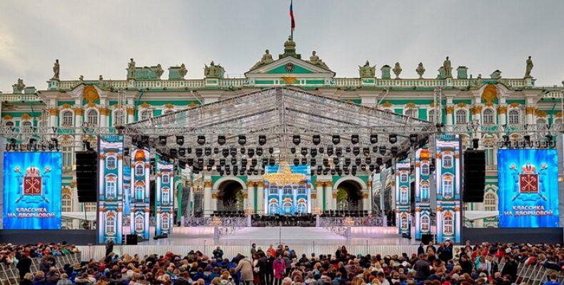 «Классика на Дворцовой» 26 мая: Нетребко, TODES и балет Якобсона