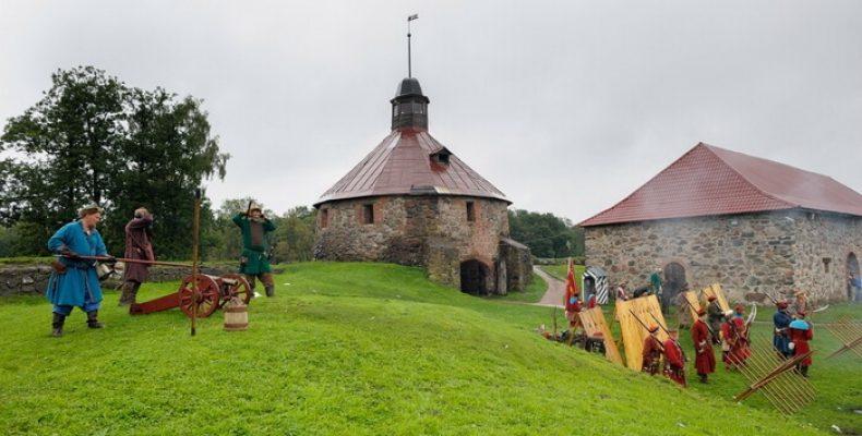 «Карельские рубежи» в крепости Корела (Приозерск) 19-20 августа