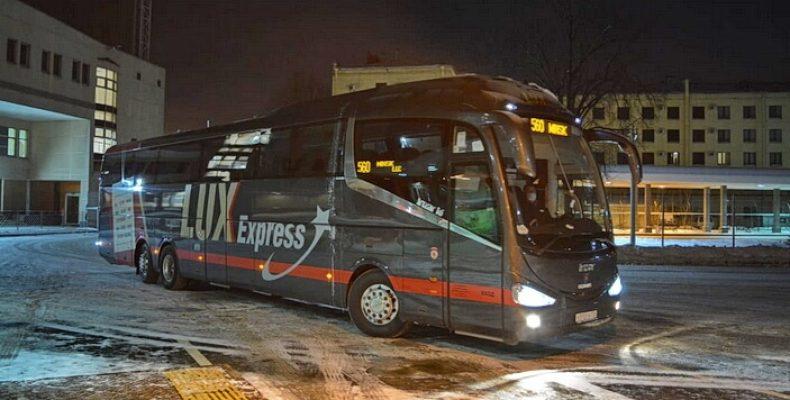 Lux Express запустил самый быстрый рейс из Петербурга в Минск — всего 11 часов