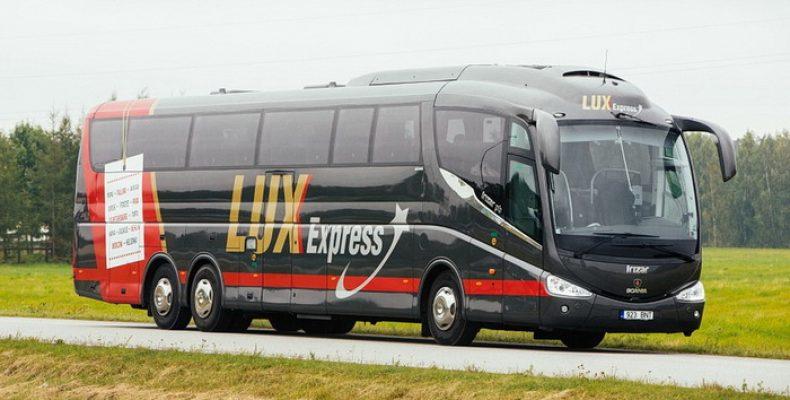 Автобус в Ригу и Таллин за полцены