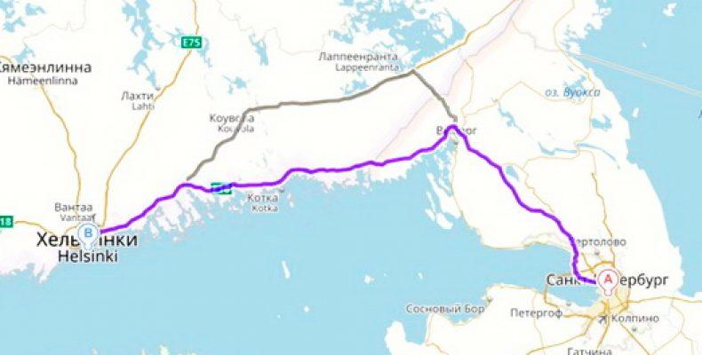 Как добраться на маршрутке до Финляндии из Петербурга