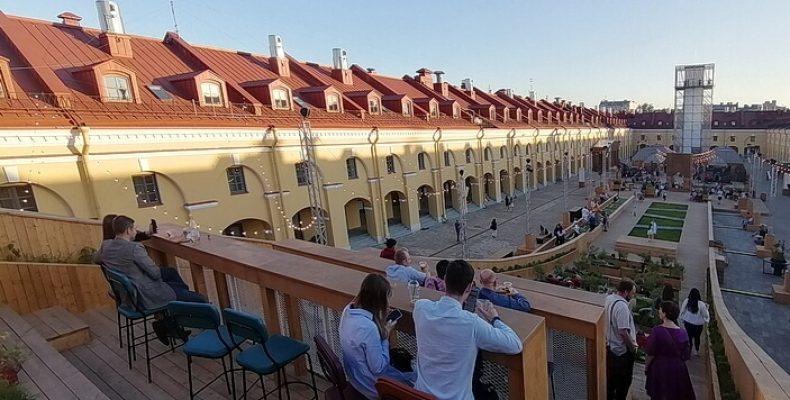 Никольские ряды в Санкт-Петербурге