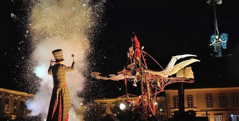 Открытие Театральной Олимпиады – выступление театров на площади Островского 15 июня