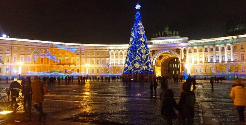 Новогодняя ночь 2019-2020 в Петербурге
