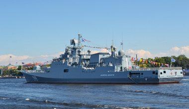 Военно-морской парад в честь Дня ВМФ 25 июля 2021 в Петербурге