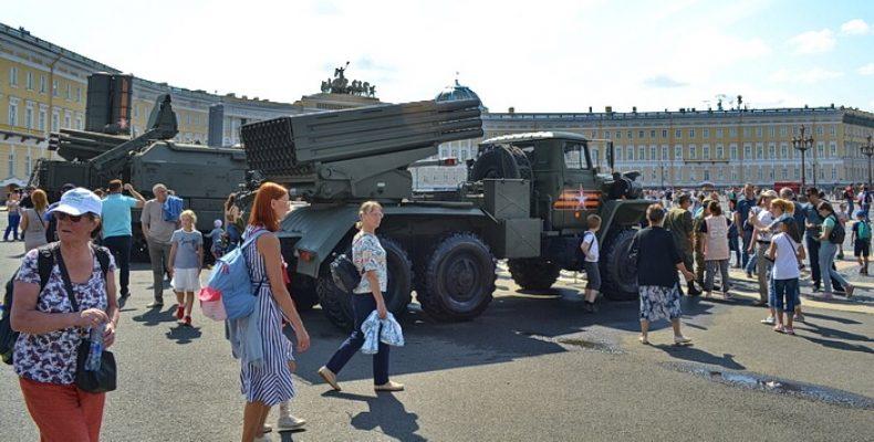 Ограничение улиц в Петербурге из-за парада на Дворцовой