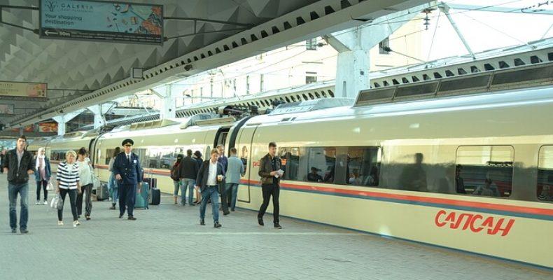Билеты на «Сапсан» между Москвой и Петербургом от 1400 рублей с 1 по 15 октября