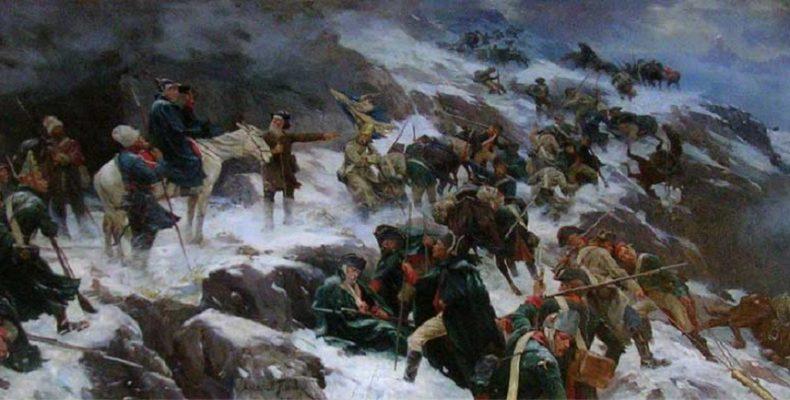Выставка «Роковой март» открылась в Музее Суворова