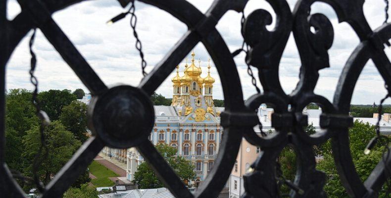 Смотровая площадка Певческой башни в Пушкине