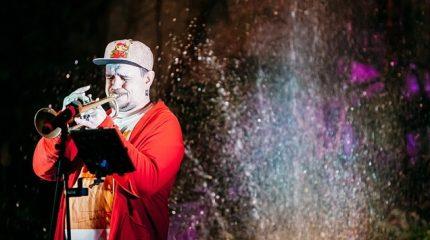 Концерт Чё Морале в Оранжерее Таврического сада 20 октября
